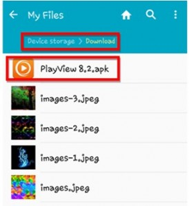 Play View APK for Android