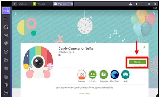 Candy Camera for PC Windows 10/8/8.1/7/XP & Mac Download