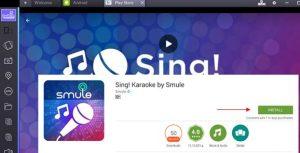 Sing Karaoke by Smule for PC/Laptop on Windows 8 1/8/10/7/XP