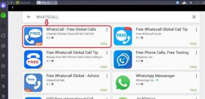 WhatsCall for PC