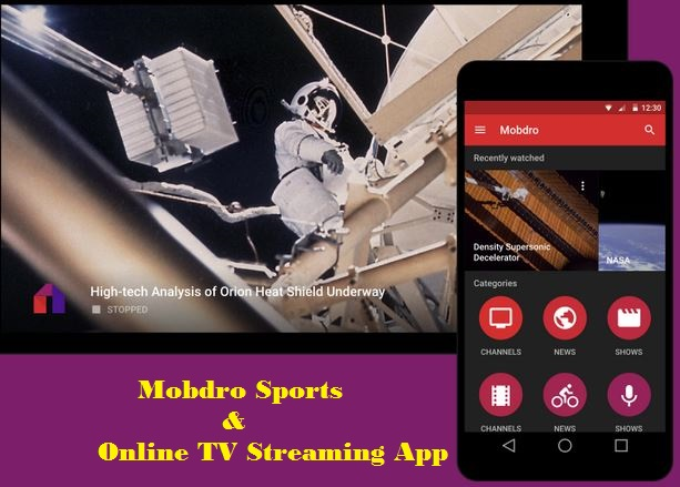 free video streams for android