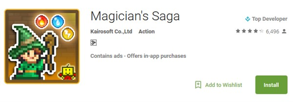 Magician's Saga for PC
