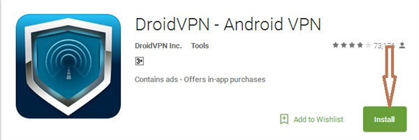 DroidVPN for PC