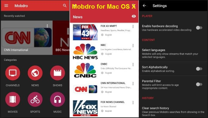 mobdro for mac