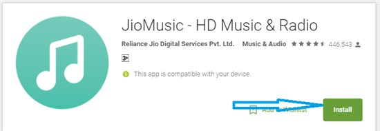 Jio Music for PC