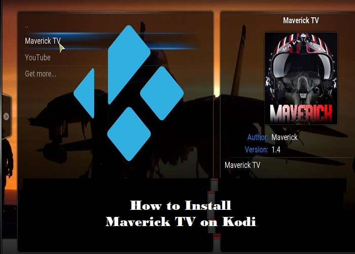 maverick tv on kodi