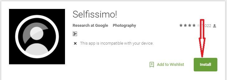 Selfissimo App for PC