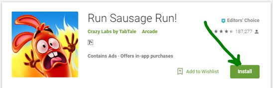 Run Sausage Run for PC